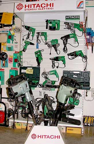 Vendita utensili e centro assistenza HITACHI